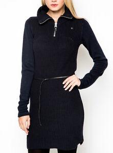 g star raw neatch dress knit wmn gr xl damen strickkleid kleid blau neu ovp ebay. Black Bedroom Furniture Sets. Home Design Ideas