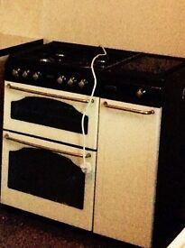 Cream stoves envoy gas cooker.