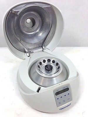 Eppendorf 5452 Minispin Micro Centrifuge W F45-12-11 Rotor Working