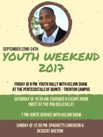Youth Weekend at POQ sept 22-24