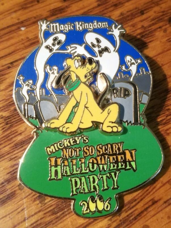 PLUTO Halloween Party Disney Pin LE Ghosts