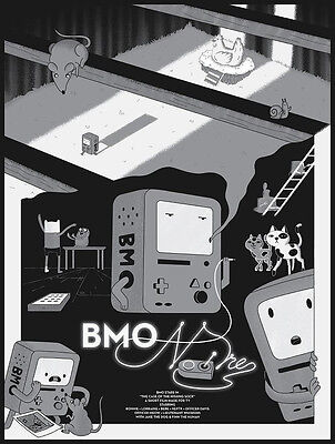 Bmo Noire  From Bottleneck Gallery S Show  Gizmos And Gadgets  Adventure Time
