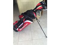 Men's right handed Dunlop golf set