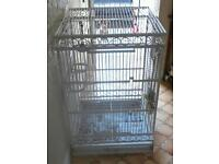 Large strong shabby chic parrots cage