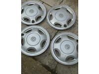 Vw polo wheel trims