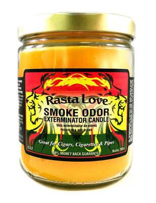 Smoke Odor Exterminator Rasta Love Scented Candle