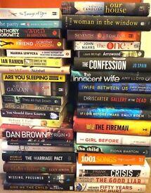 38 RECENT BOOKS EXCELLENT CLEAN CONDITION
