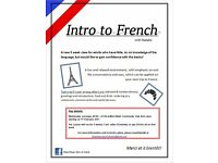 Intro to French class