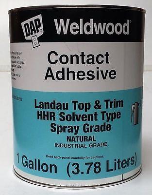 DAP Weldwood Contact Cement Gallon HHR Industrial Grade Landau Top  Trim