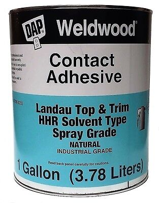 Dap Weldwood Contact Cement Top Trim Hhr Solvent Type Spray Grade 1 Gallon