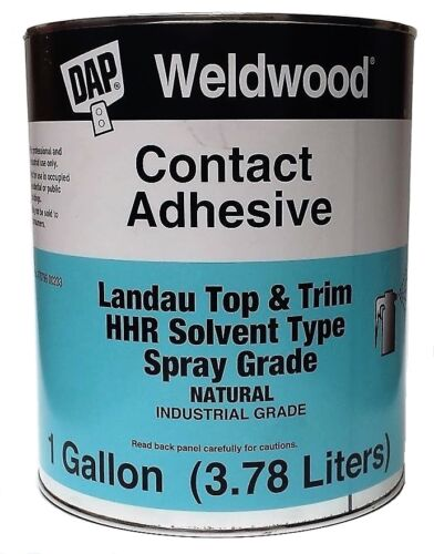 DAP Weldwood Contact Cement Top & Trim HHR Solvent Type Spray Grade 1 GALLON