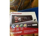 Pioneer cd mp3 player head unit