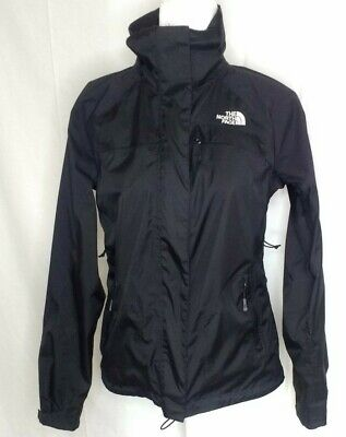 The North Face Womens SP Hyvent Varius Guide Rain Jacket Black Coat Full Zip
