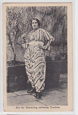 93468 AK Aus der Sammlung serbischer Trachten 1. Weltkrieg (Trachten Der Welt)