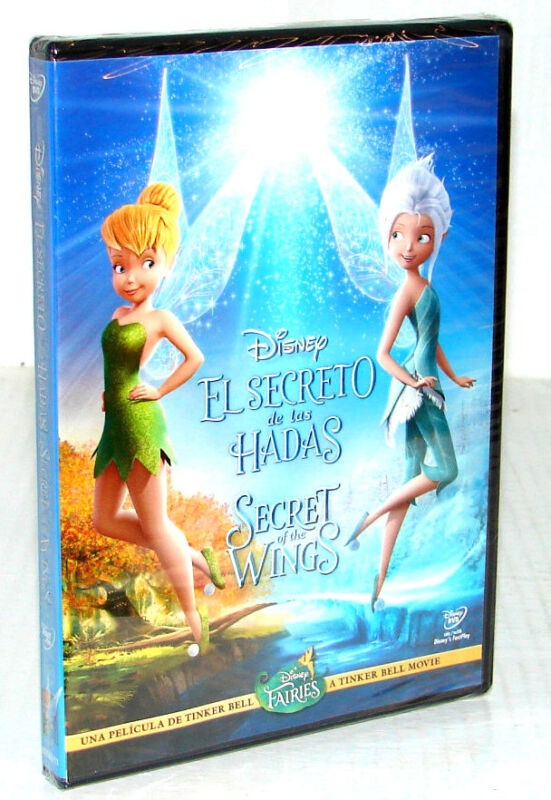 Secret Of The Wings (dvd, 2012)     ***new Factory Sealed***