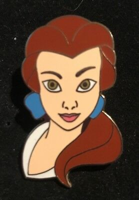 Disney Pin WDW - Beauty and the Beast Princess Belle Neck and Face Pose 2003