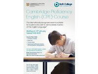 Cambridge Proficiency English course