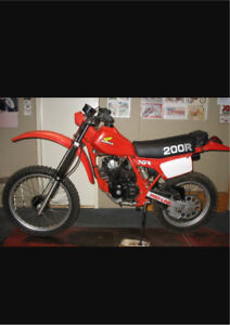 Wanted: 1982 Honda xr200r parts