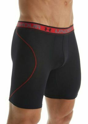Under Armour Men's Boxerjock Size M Black 9 inch Iso-Chill Mesh 1254698 001 New