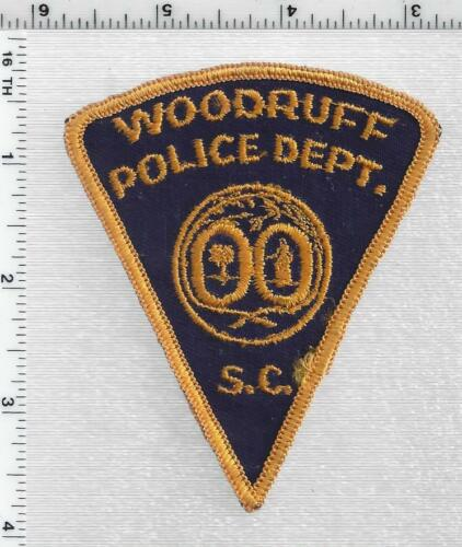 Woodruff Police (South Carolina) 1st Issue Shoulder Patch