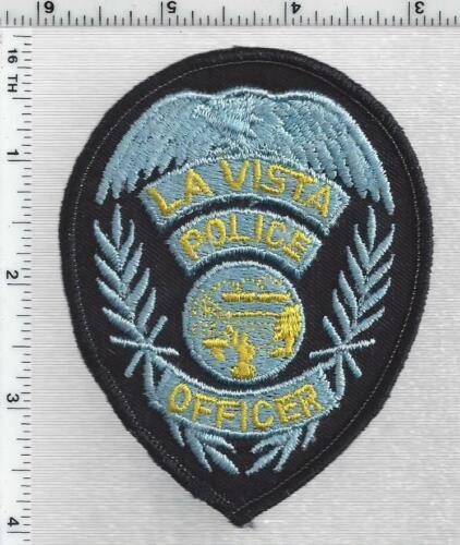 City of La Vista Police (Nebraska) 1st Issue Cap/Hat Patch