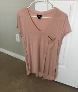 MOSSIMO V NECK TUNIC TEE-NEW!