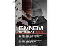 3x Eminem tickets Saturday 14th