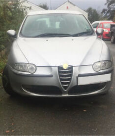 Alfa Romeo 147 silver lusso 5 door parts