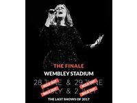 Adele Tickets X2 seated Sunday 2nd July 2017