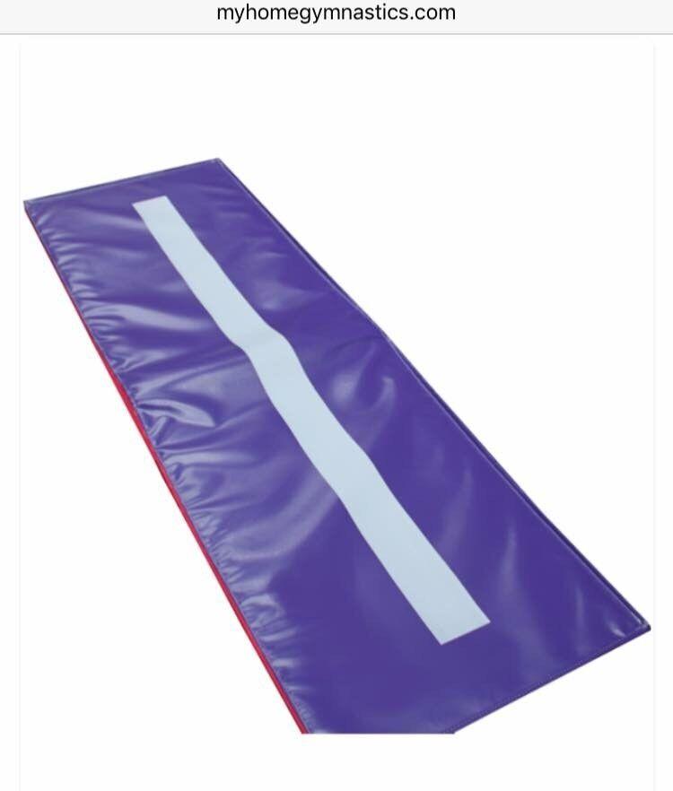 My home cartwheel/gymnastics training mat