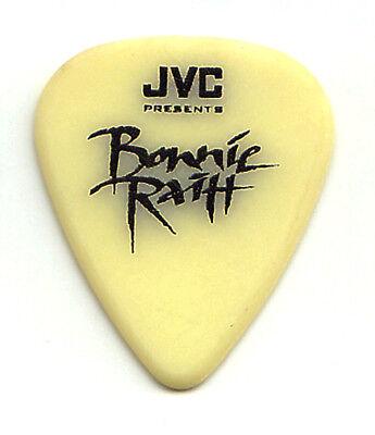 Bonnie Raitt Signature Yellow JVC Guitar Pick - 1990s Tours