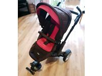 O'Baby Znergi 3Tec 3 Wheeler Pushchair