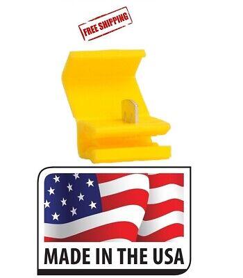 100 Scotch Lock Yellow Quick Splice Electrical Terminal 12-10 Ga. Made In Usa