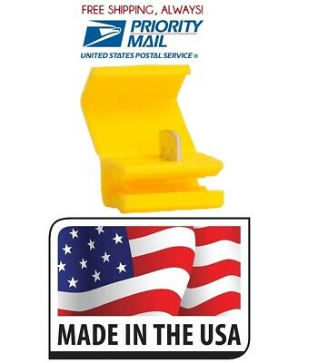 500 Scotch Lock Yellow Quick Splice Electrical Terminal 12-10 Ga. Made In Usa