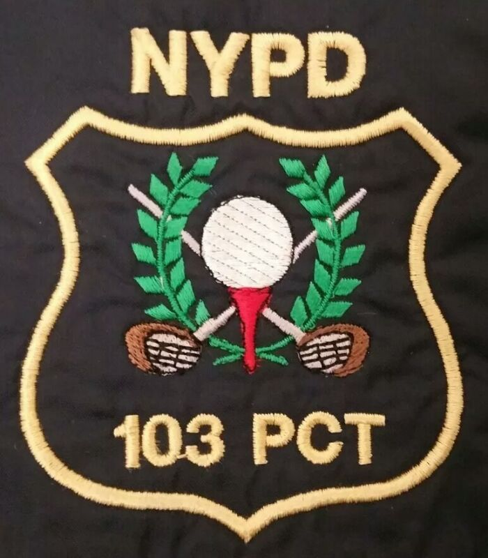 NYPD New York City Police Department NYC Sweatshirt Sz XL NEW Queens