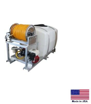 Sprayer Commercial - Skid Mounted - 9.5 Gpm - 580 Psi - 5.5 Hp - 300 Gal Tank