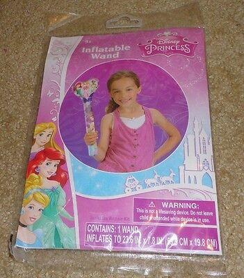 "Brand New Disney Princess Inflatable Wand w// Repair Kit 23.6/"" NEW!"