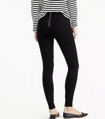 Any Day Pants (NEW JCrew Petite Any Day Pant in Stretch Ponte Black Sz PS H0713 Pixie)