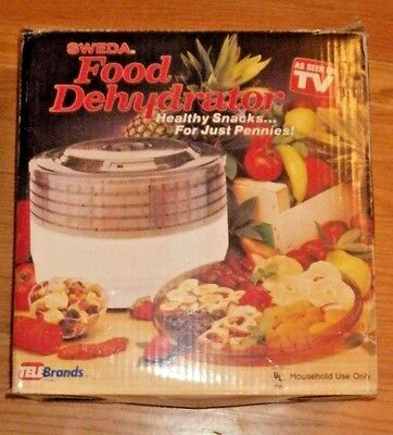 AS SEEN ON TV Sweda Food Dehydrator TeleBrands NEW!