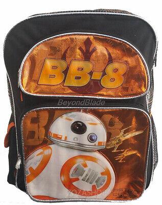 Star Wars BB8 Backpack School Book Bag Backpack 16
