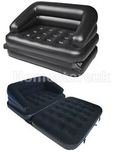 5 In 1 Multifunctional Inflatable Relaxing Blow Up Air Bed Sofa Couch Lounger Ebay