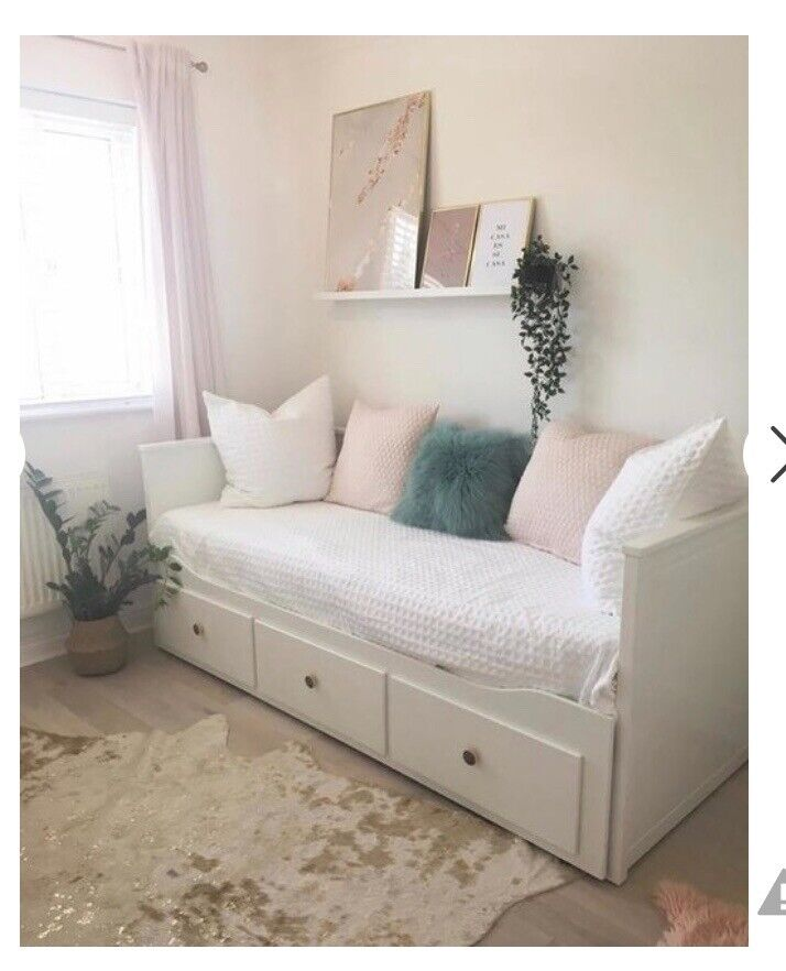 Lovely single / double day bed two mattresses   in ...