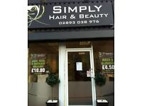 Hair and Beauty Shop and Retail Unit at Carrickfergus available for rent
