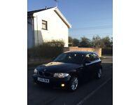 Bmw 1 series 118D Black 2007 2.0L Diesel