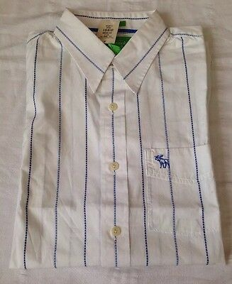 Abercrombie And Fitch Color Y Diseño Camisa Manga Corta -XL