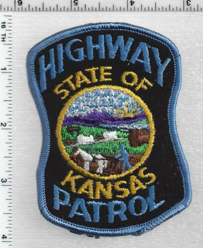 Highway Patrol (Kansas) 1st Issue Shoulder Patch