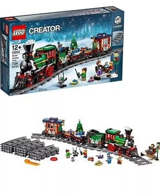 RETIRED LEGO Creator Winter Holiday Train Set Expert NEW 10254
