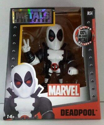 Marvel Deadpool White Costume Jada Toys Metals Die Cast 4