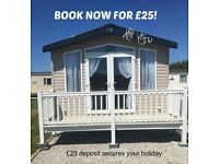 BOOK NOW for £25: HILL VIEW: PRESTHAVEN BEACH RESORT, PRESTATYN: SLEEPS 7 MAX, NO PETS