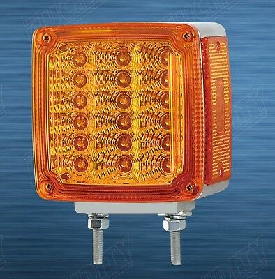 Lucidity Amber Turn signal lightIndicator May suit KenworthFreightlinerTruck